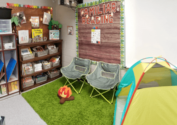 Camping Reading Area