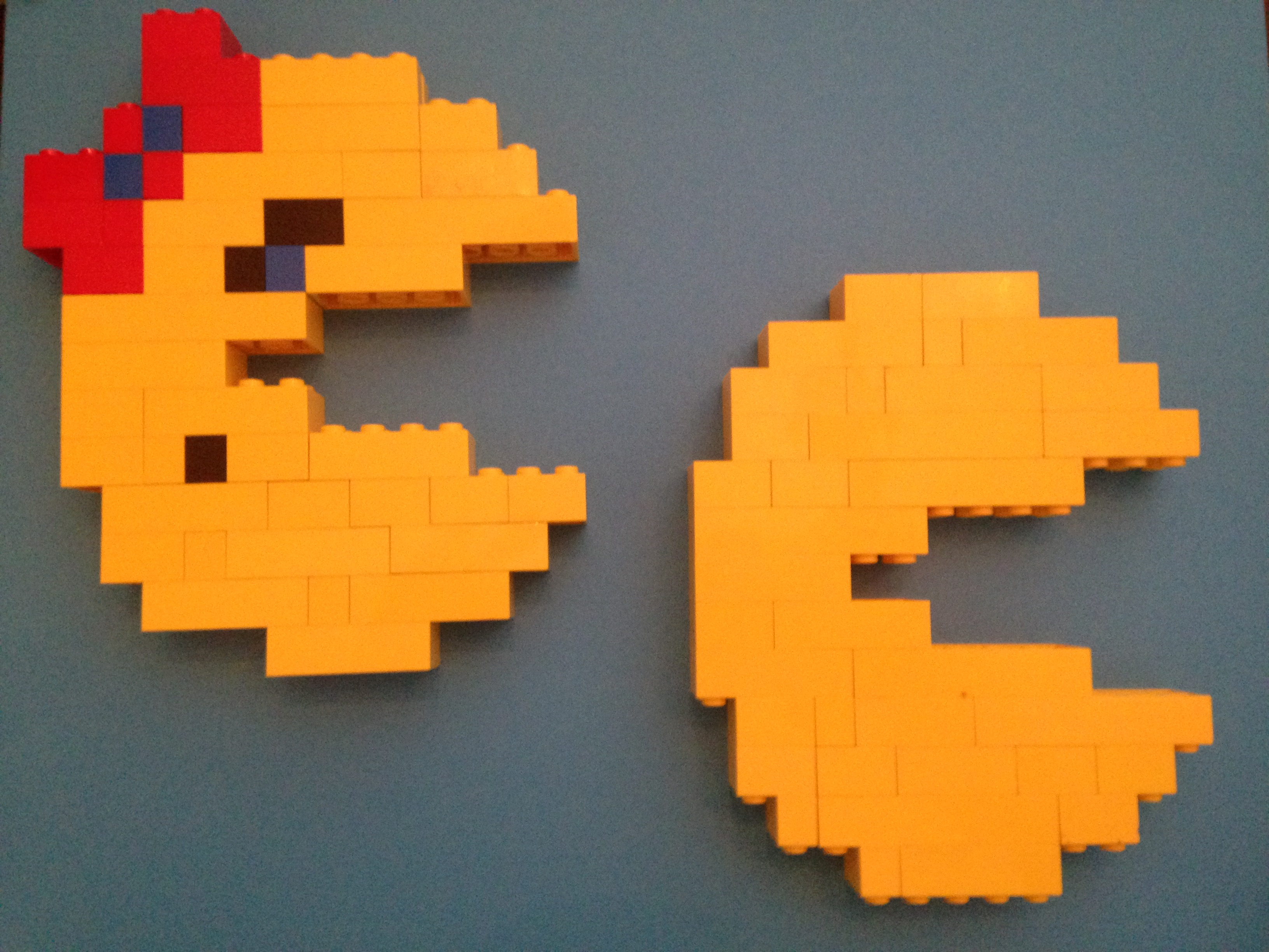 Lego Rainy Day Fun Mr Amp Mrs Pac Man For Parents