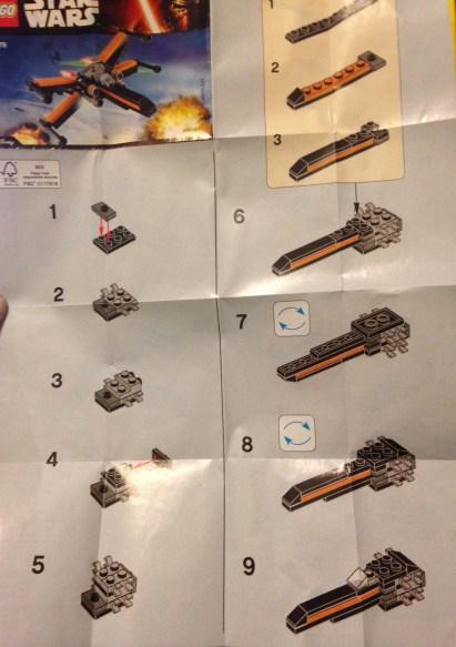 Lego, Star Wars, x-wing
