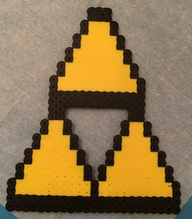 Triforce Perler Bead Pattern