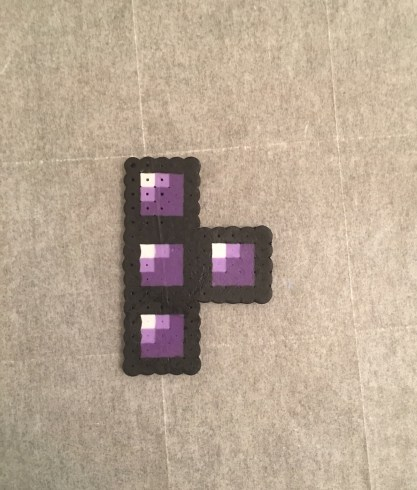 perler, bead, tetris, gaming, craft, kids