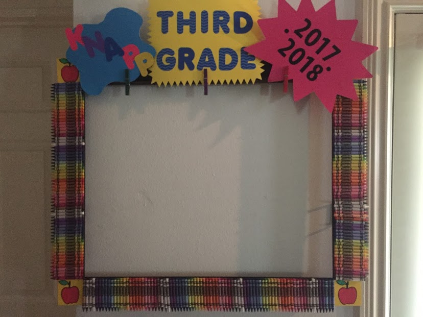 3rd Grade Open House Picture Frame For Parents And