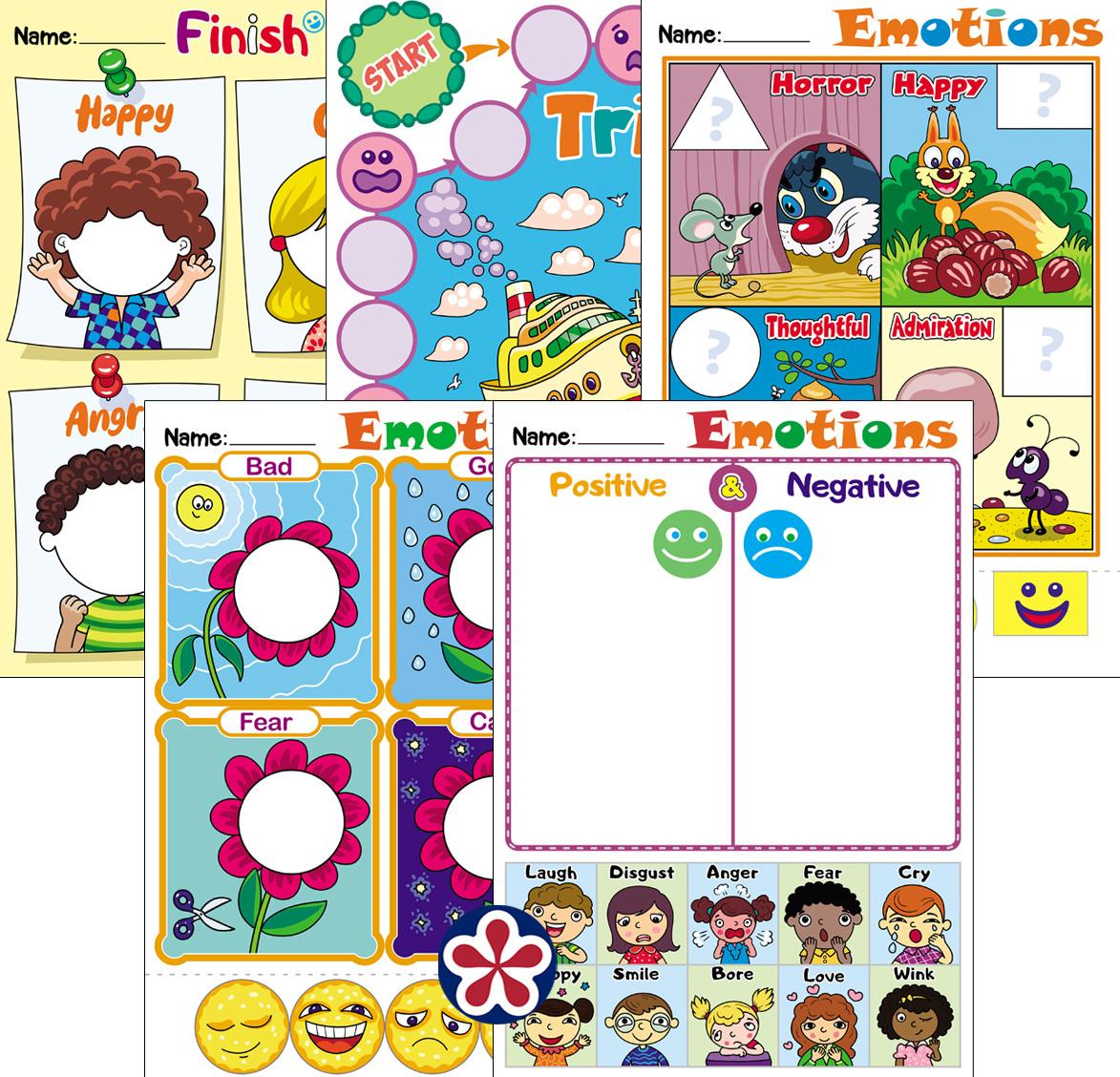 Emotion Themed Worksheets For Kids Teachersmag