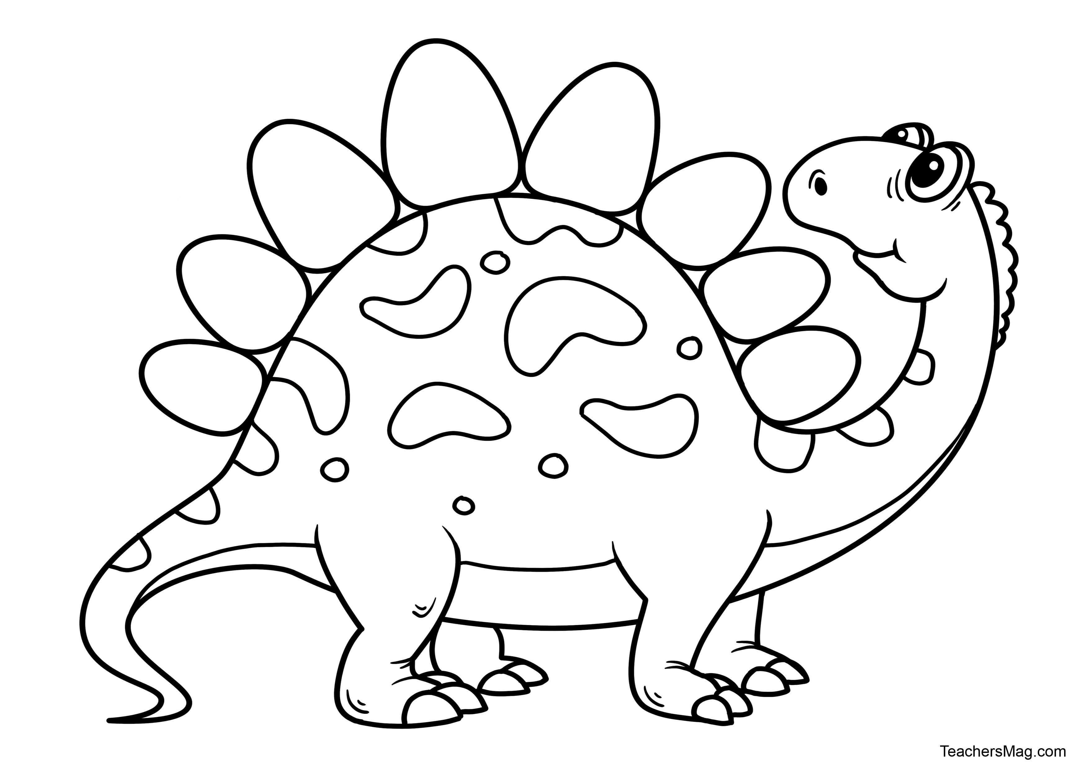 Free Dinosaur Printables For Preschool