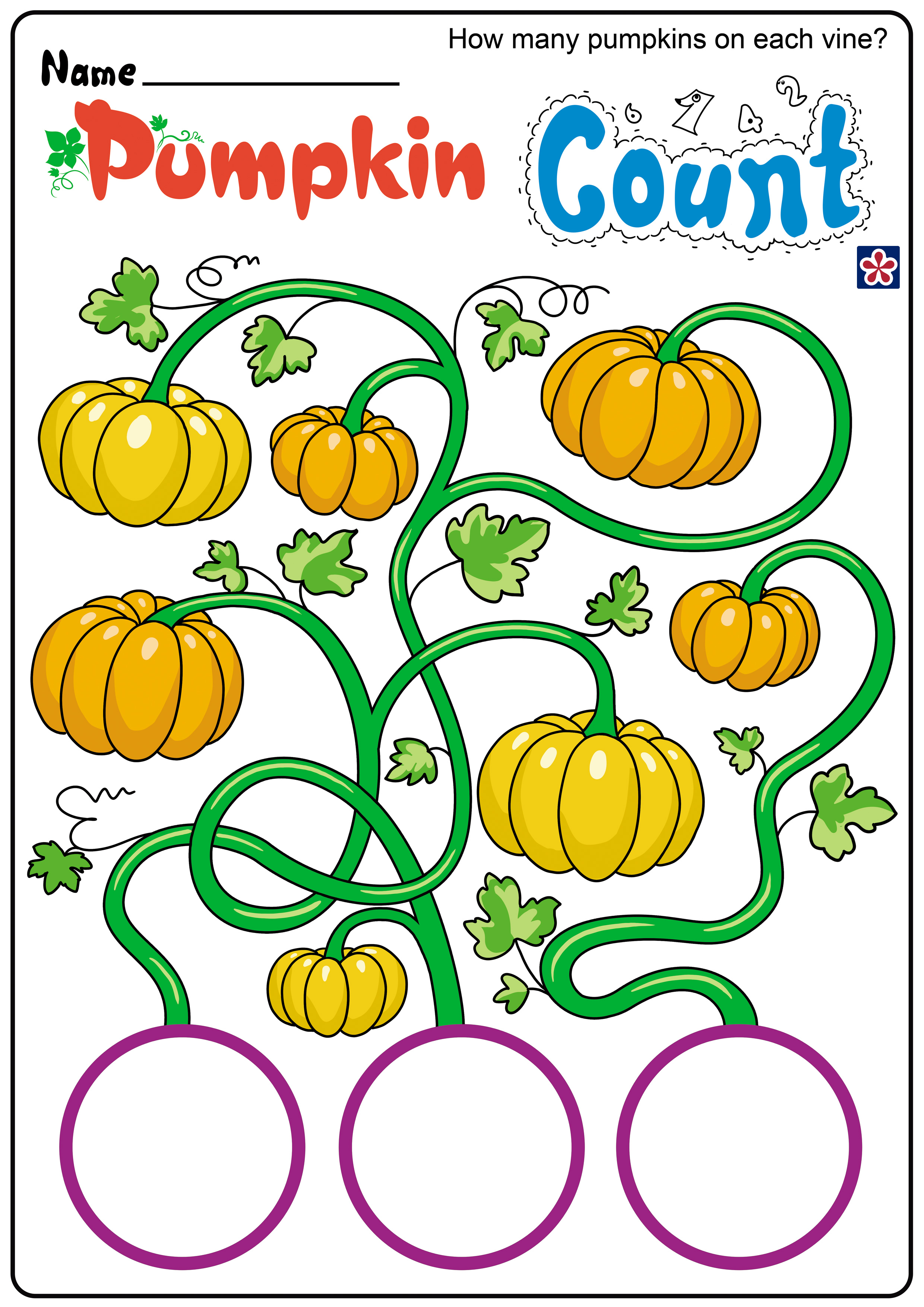 Fun And Free Pumpkin Worksheets