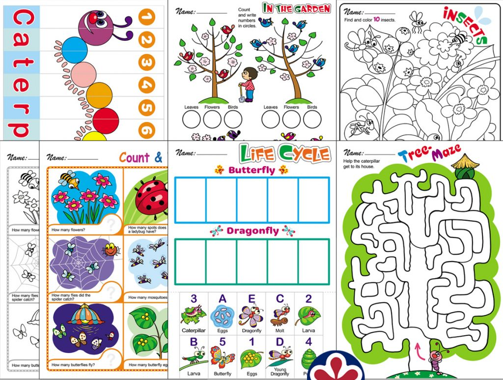 Spring Themed Worksheets For Preschool Teachersmag