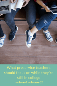 Preservice teachers have a unique task of cramming as much information and experience on pedagogy, classroom management, educational technology, and much more. Dr. Sam Fecich dives into what they should focus on so that they have a higher chance of success first year teacher | first year of teaching | teaching credential | beginning teacher | preservice teacher