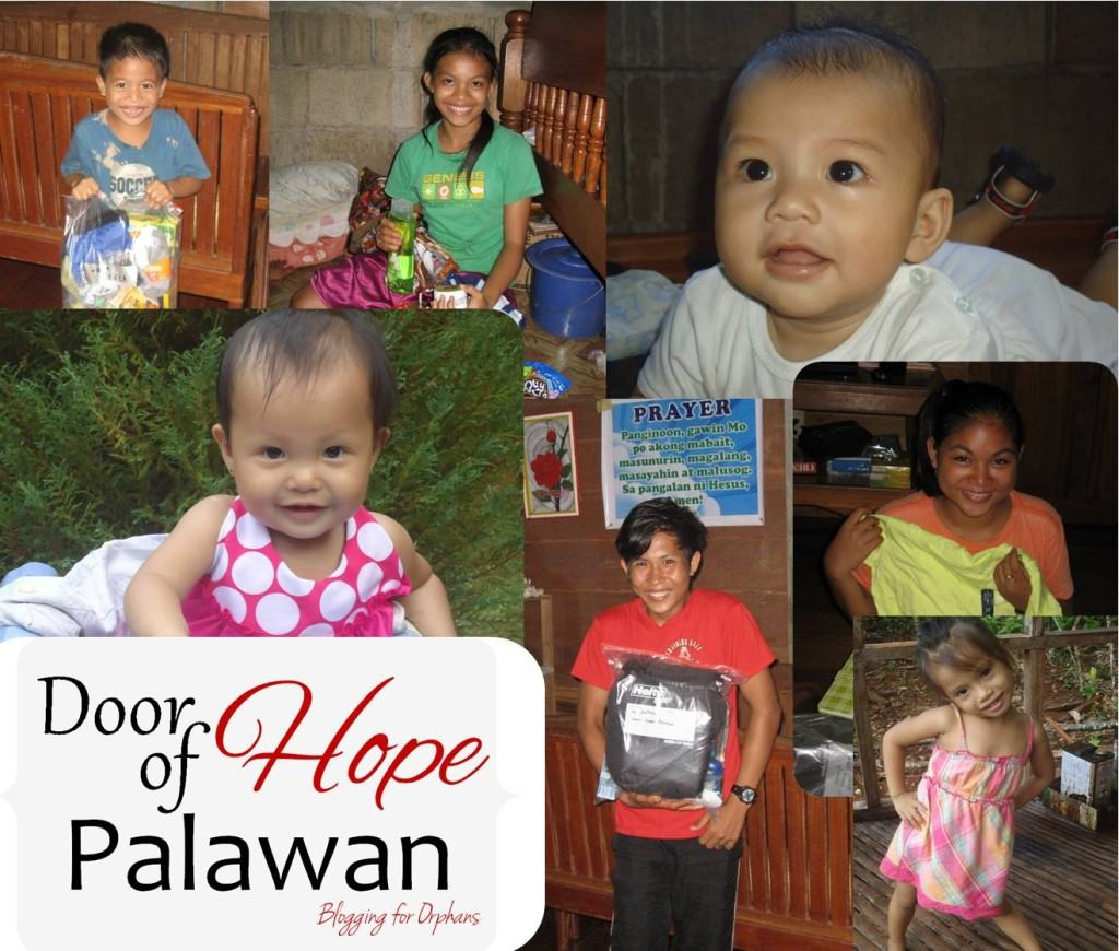 Door of Hope Palawan Collage | Blogging for Orphans