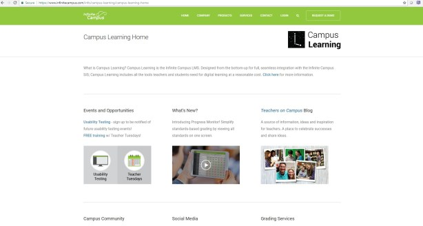 CampusLearning Home