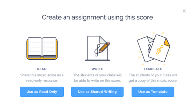 Flat.io Create Assignment From Score