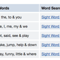 Sight words searches free download