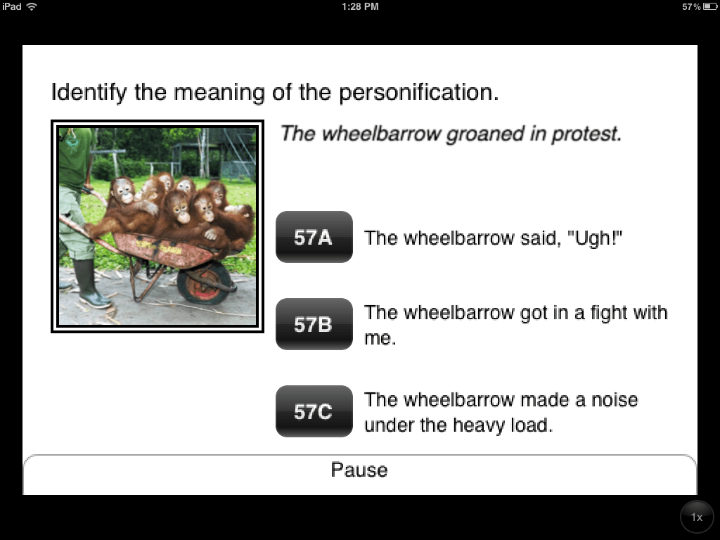 Practice Personification And Idiom