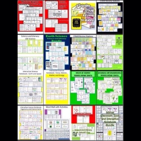 Everything 5th grade science Mega bundle