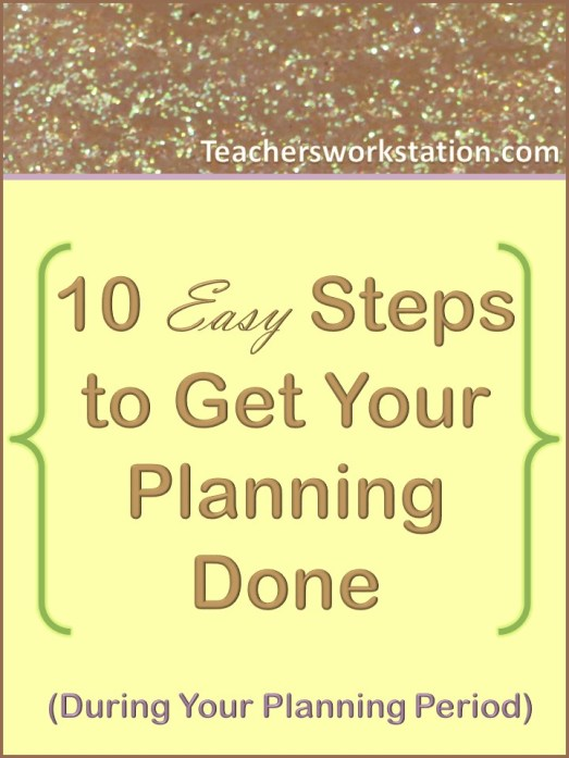 10 easy steps to get your planning done