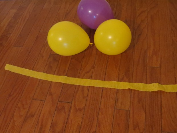 learning game balloon toss