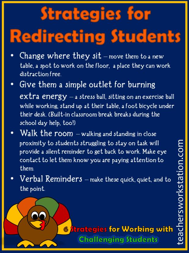 classroom-redirection-strategies