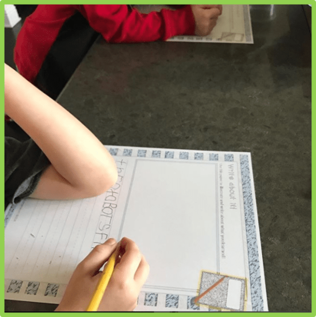 writing templates reading response