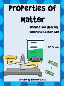Properties of Matter 5th