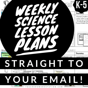 Free Weekly Science Lesson Plans