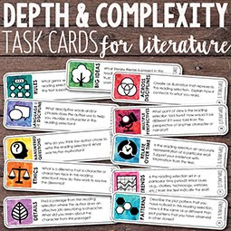 picture regarding Depth and Complexity Icons Printable named Totally free Element and Complexity Icon Posters Trainer Realize success