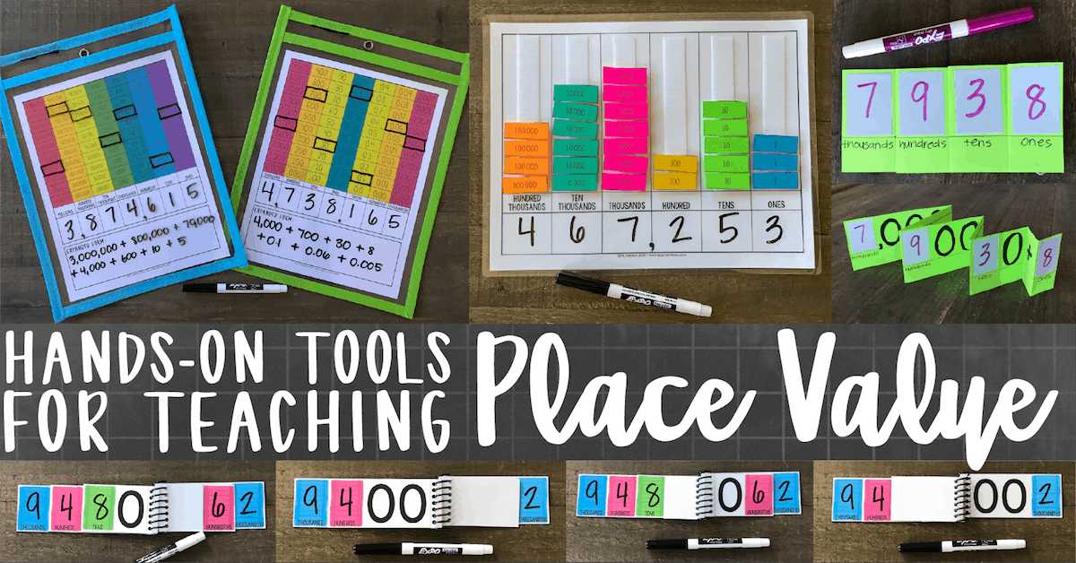 graphic relating to Place Value Strips Printable called Arms-upon Actions for Education House Relevance Instructor Be successful