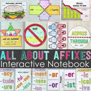 prefixes and affixes