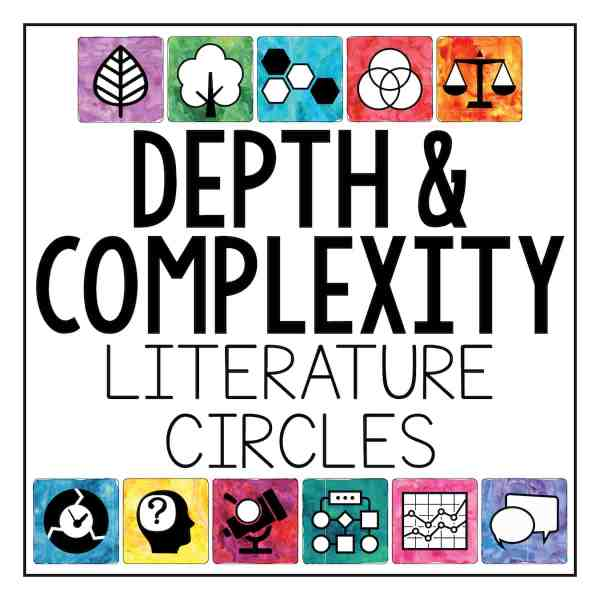 depth and complexity literature circles