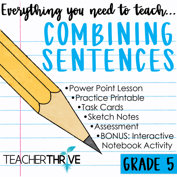 Combine Sentences