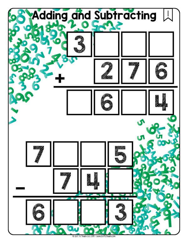 math tiles math centers