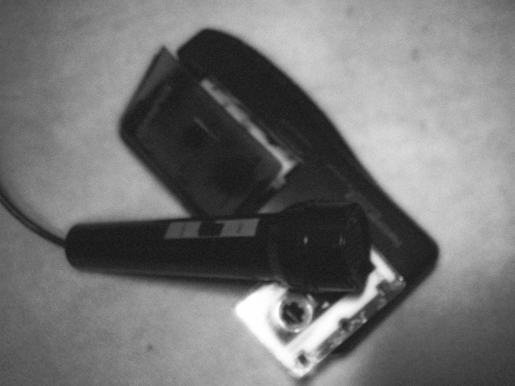 dictaphone and mic