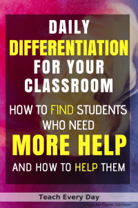 New teacher tip- use Google Forms to find students who need more help