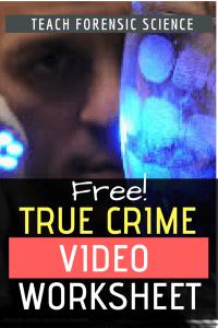 Free True Crime Video Worksheet