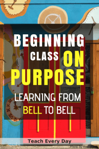 Beginning class on Purpose