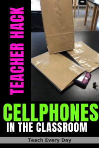 simple solution to cellphones in the classroom