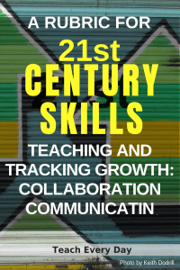 21st Century Skills: Teaching and Tracking Growth