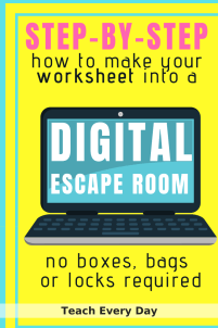 How to make a Digital Escape Room for the Classroom
