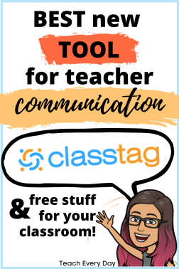 My new favorite tool for teacher communication with parents and students - ClassTag has the best features of Remind101, ClassDojo, and Signup Genius in ONE.