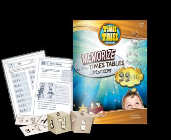 Times Tales Memorize Multiplication Workbook