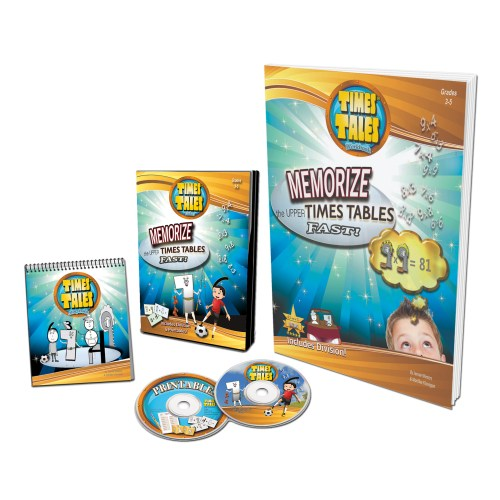 Times Tales Deluxe Bundle - How to teach multiplication to struggling students