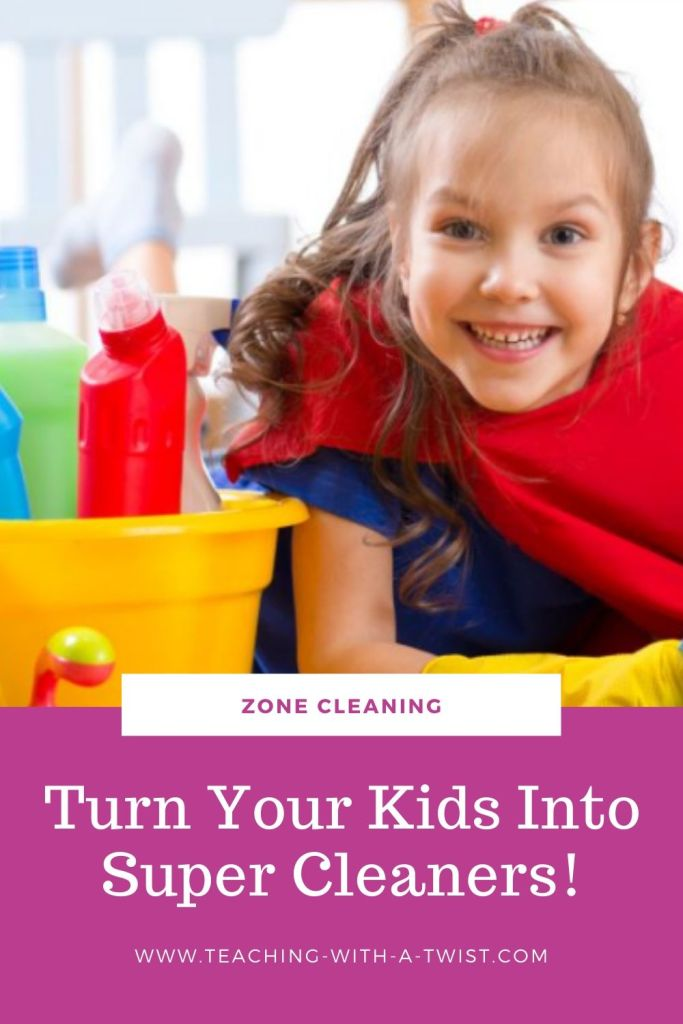 Try this simple 3 step process to turn your messy children into super cleaners! Don't just get the job done - teach your children HOW to do it.