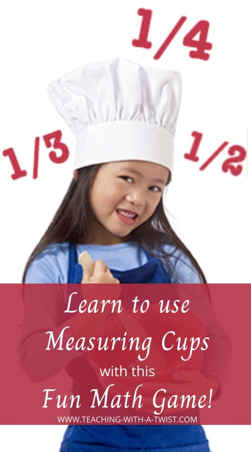 Teaching Kids to use Measuring Cups with this Fun Math Game!
