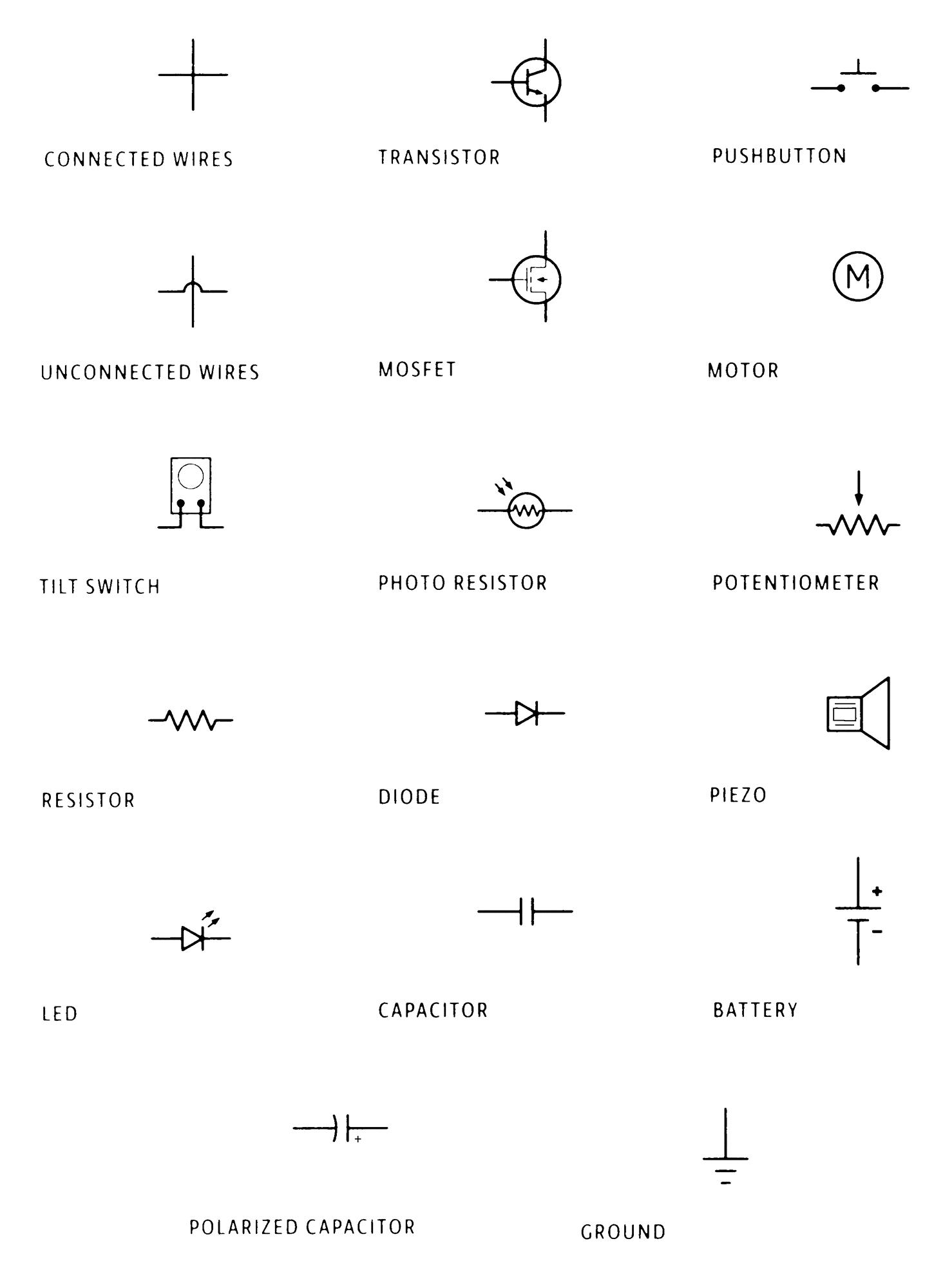 Microprocessor Schematic Symbol