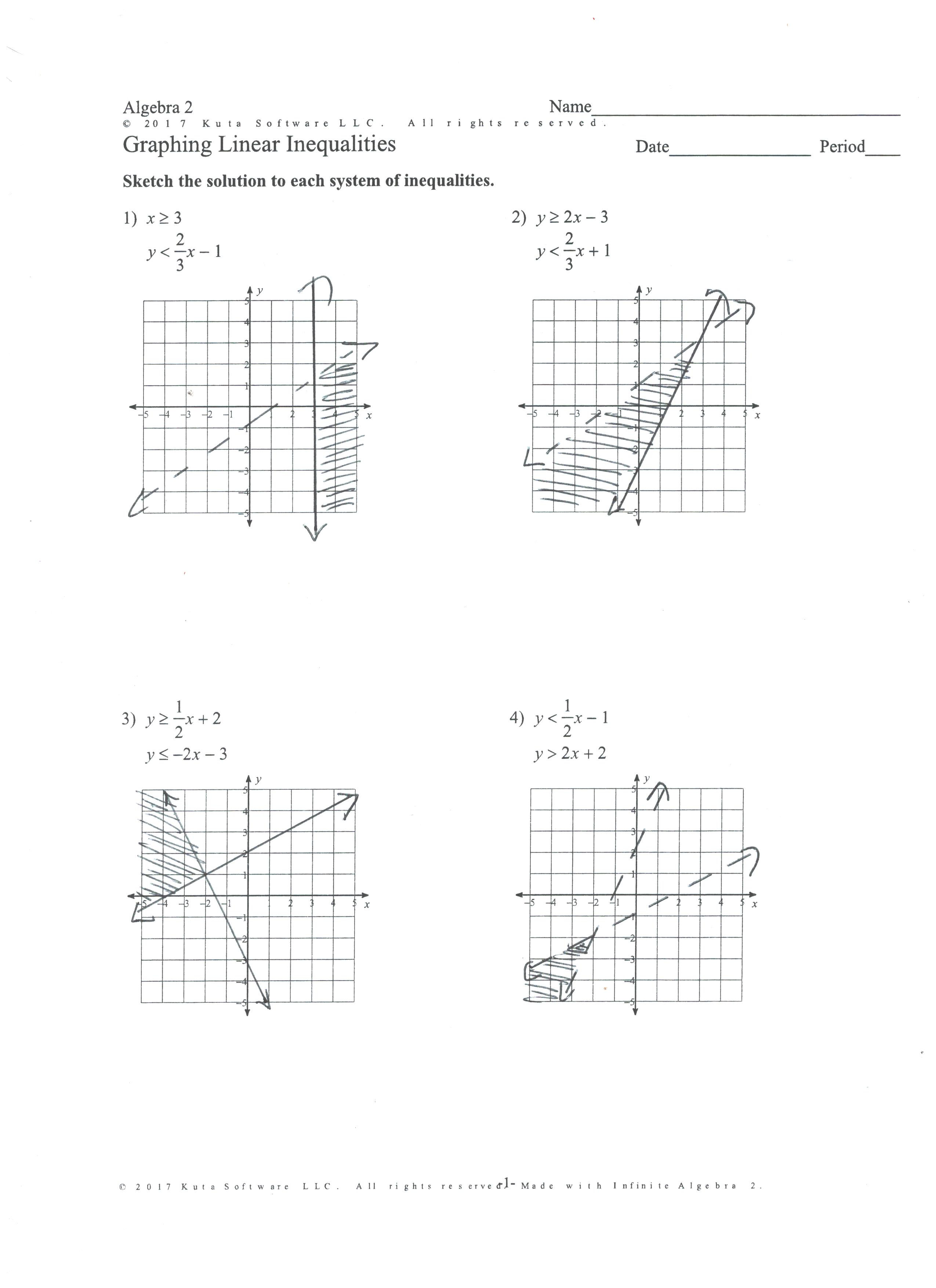 Lesson 7 Solve Systems Of Equations By Graphing 241