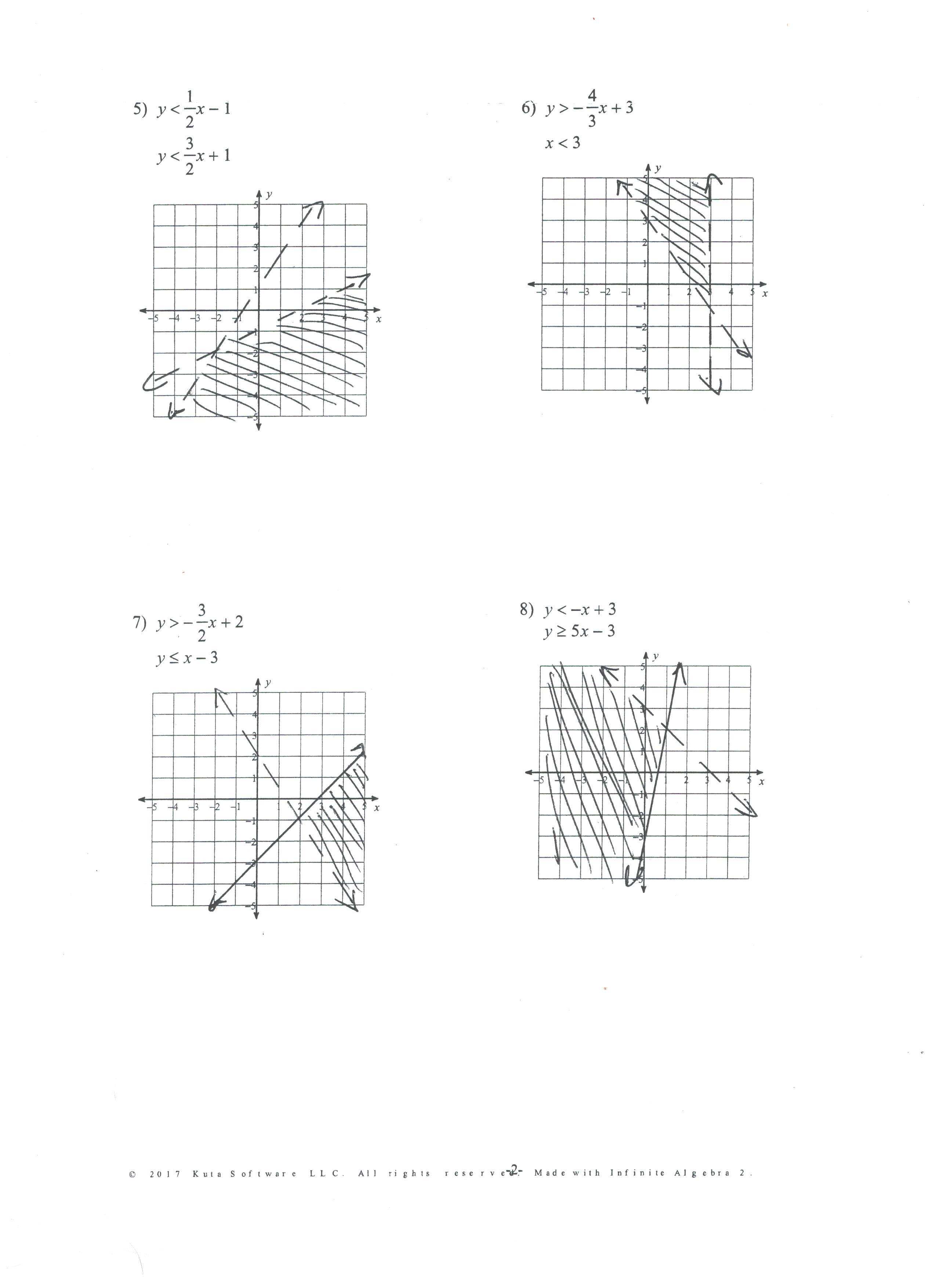 Honors Algebra Ii Assignments