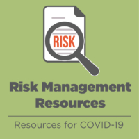 Risk Management Resources: COVID-19