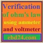 Verification Of Ohm's Law