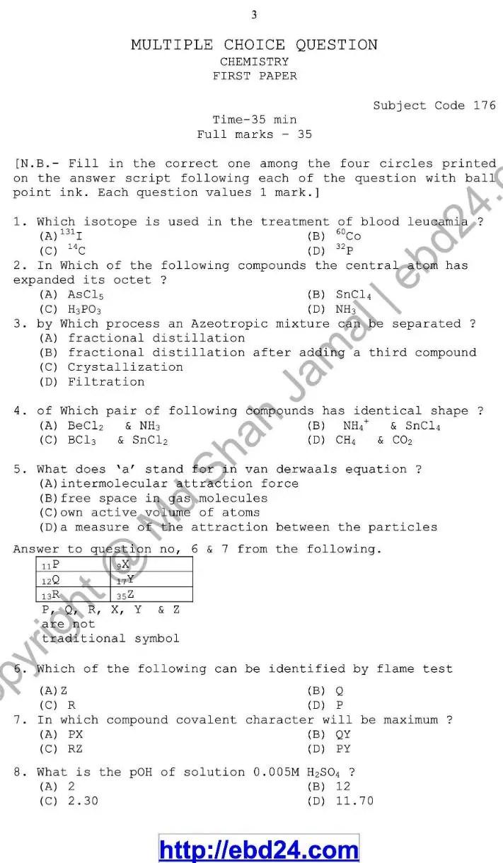 Chemistry- English Version-1st Exam 2014 (3)
