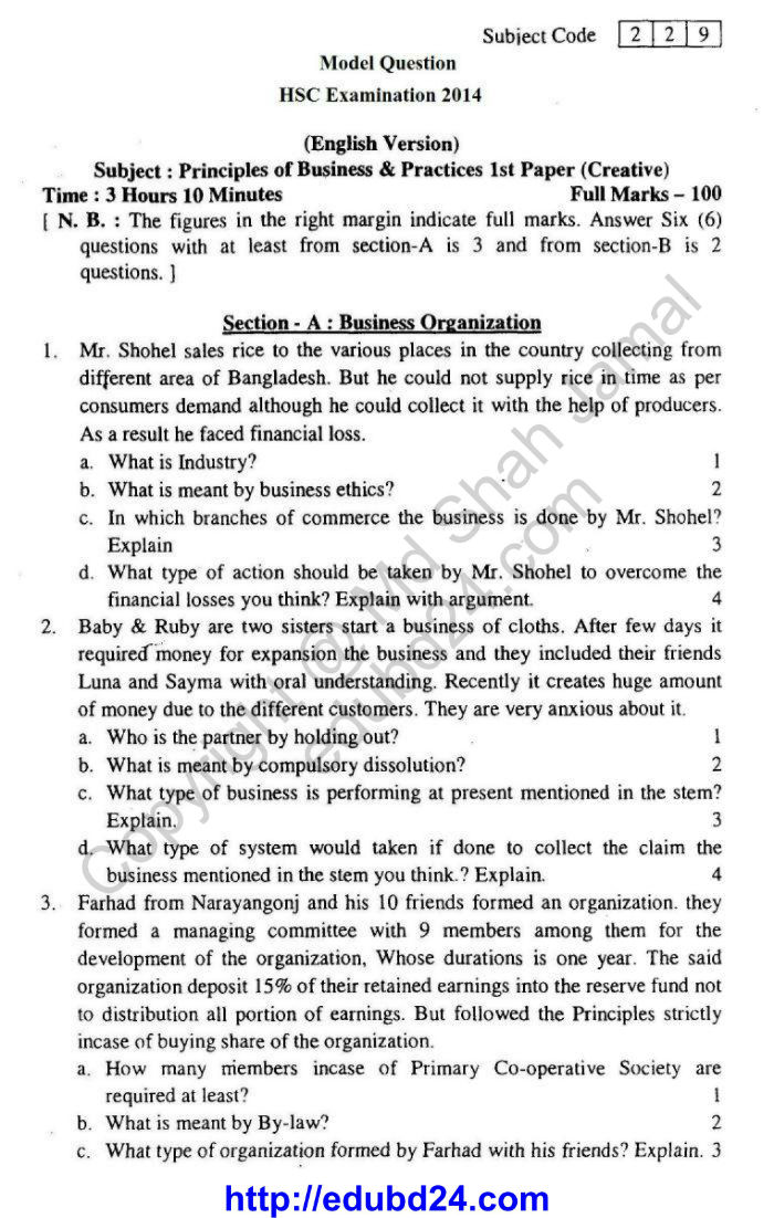 English version of Principles of Business1