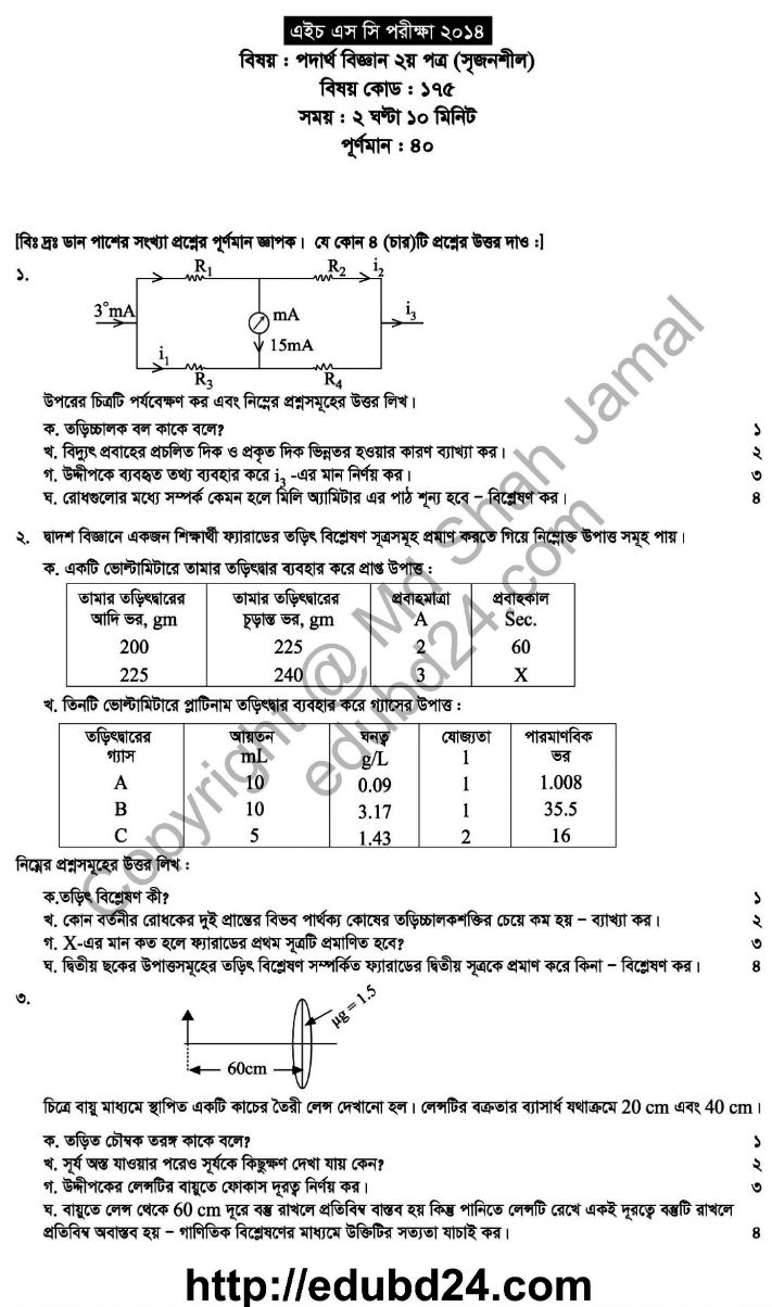 Physic 2nd Paper (1)