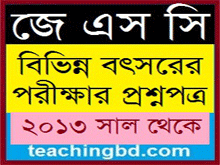 JSC Board Question of Various Year